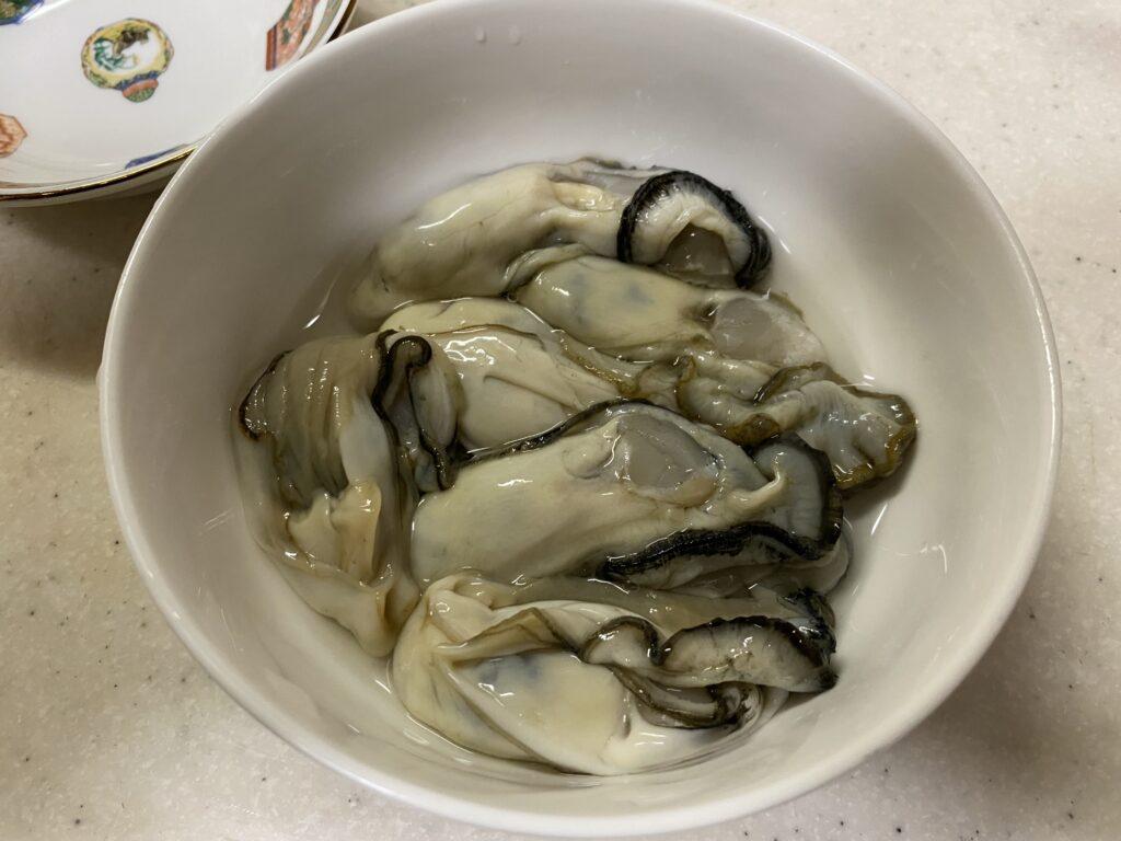 スーパーで売っている生牡蠣が美味い